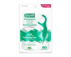 Image du produit G·U·M - Porte-fils Eez-Thru extra-résistants à la menthe, 90 unités