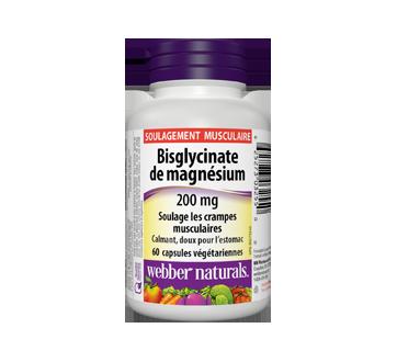 Image du produit Webber Naturals - Bisglycinate de magnésium 200 mg, 60 unités