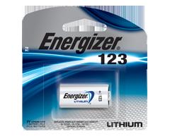 Image du produit Energizer - Piles spécialisées, 1 pile, EL123APBP