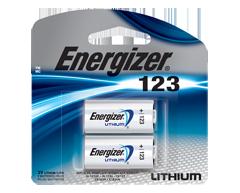 Image du produit Energizer - Piles spécialisées, 2 piles, EL123APB2