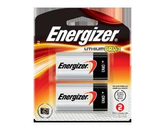 Image du produit Energizer - Piles spécialisées, 2 piles, ELCRV3BP2
