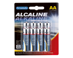 Image du produit Personnelle - Piles alcalines AA, 8 unités