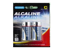 Image du produit Personnelle - Piles alcalines C, 2 piles