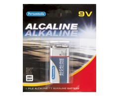 Image du produit Personnelle - Pile alcaline 9 V, 1 pile