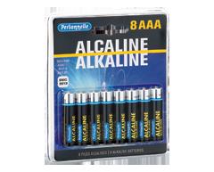 Image du produit Personnelle - Piles alcalines AAA, 8 unités