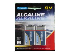 Image du produit Personnelle - Piles alcalines 9 V, 2 piles