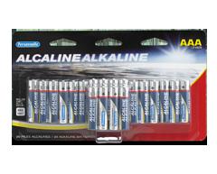 Image du produit Personnelle - Piles alcalines AA, 20 piles