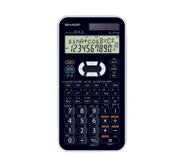 Calculatrice scientifique, 1 unité
