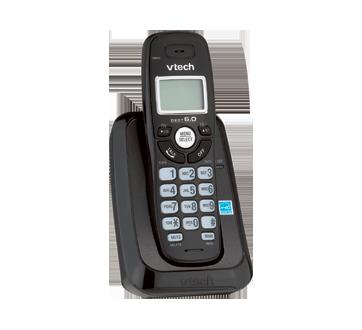 Téléphone sans fil, 1 unité, noir