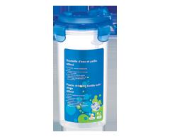 Image du produit Longstar - Bouteille d'eau et paille, 400 ml