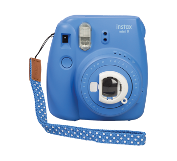 fuji instax mini 9 appareil photo instantan 1 unit bleu cobalt fujifilm cam ra jean coutu. Black Bedroom Furniture Sets. Home Design Ideas