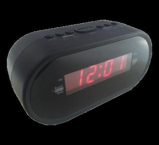 Radio réveil numérique, 1 unité