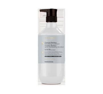 Charbon Bambou après-shampooing détoxifiant, 400 ml