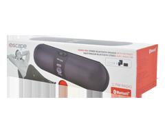 Image du produit Escape - Haut-parleur stéréo Bluetooth avec radio FM, 1 unité