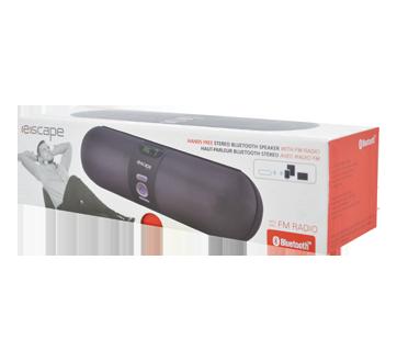 Haut-parleur stéréo bluetooth avec radio FM, 1 unité