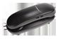 Vignette 1 du produit eLink - Téléphone combiné avec sonnerie illuminée, 1 unité, noir