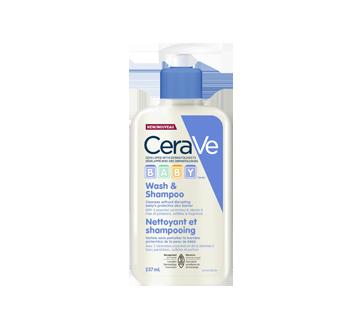 Nettoyant et shampooing, 237 ml