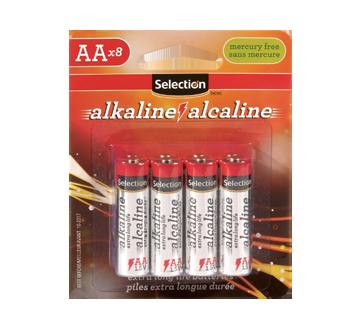 Pile alcaline AA 1.5V, 20 unités