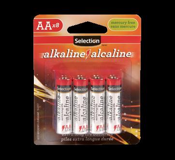 Pile alcaline AA, 8 unités