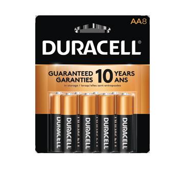 Piles alcalines AA CopperTop, 8 unités