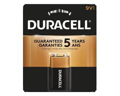Image du produit Duracell - Piles alcalines 9V CopperTop, 1 pile