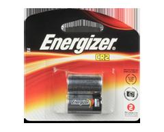 Image du produit Energizer - Piles spécialisées, 2 piles, EL1CR2BP2