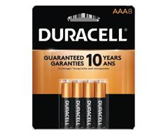 Image du produit Duracell - CopperTopp piles alkaline AAA, 8 unités