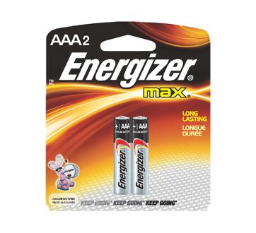 Image 2 du produit Energizer - Piles, emballage régulier, max AAA-2