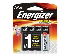 Image du produit Energizer - Piles, emballage régulier, max AA-4