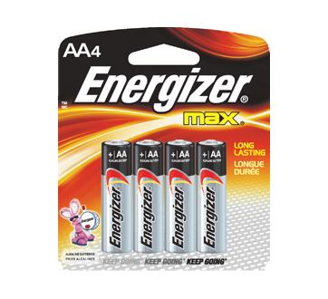 Image 2 du produit Energizer - Piles, emballage régulier, max AA-4