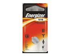 Image du produit Energizer - Piles spécialisées, 1 pile, ECR1216BP
