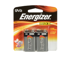Image du produit Energizer - Piles, emballage multiple, max 9v2