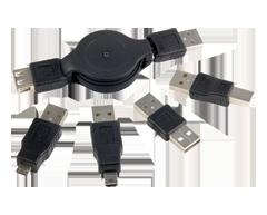 Image du produit RCA - Ensemble USB rétractable (CTPH527)