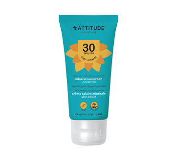 Crème solaire FPS 30, 75 g, sans parfum
