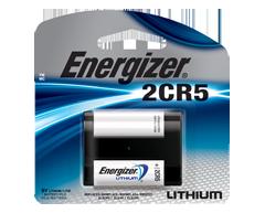 Image du produit Energizer - Piles spécialisées, 1 pile, EL2CR5BP