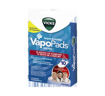 Image du produit Vicks - VSP19VPC VapoPads tampons aromatiques, 10 unités