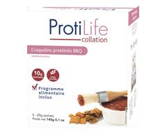 Image du produit ProtiLife - Collation craquelins protéinés BBQ , 5 x 29 g