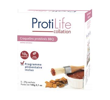 Image 1 du produit ProtiLife - Collation craquelins protéinés, 5 x 29 g, BBQ