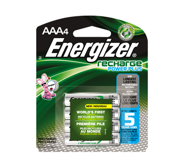Piles, recharge power plus AAA-4