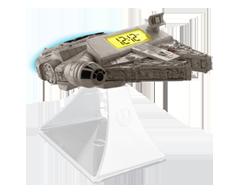 Image du produit iHome - Réveil lumineux d'un héro en véhicule Star Wars