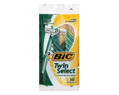 Image du produit Bic - Twin Select rasoirs, 10 unités