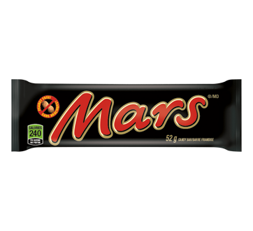 Mars - Barre régulière