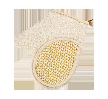 Gant en tissu éponge et sisal
