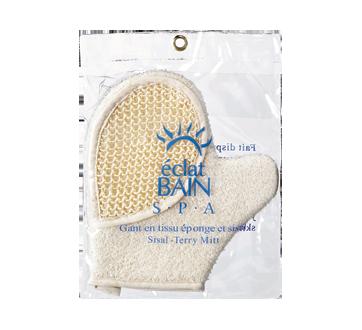Image 2 du produit Éclat Bain S·P·A - Gant en tissu éponge et sisal