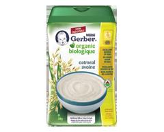 Image du produit Nestlé - Gerber céréales d'avoine biologique pour bébés, 208 g