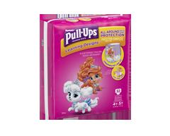 Image du produit Pull-Ups - Learning Designs sous-vêtements d'entraînement pour fillettes, 32 unités, 4t-5t méga