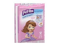 Image du produit Pull-Ups - Learning Designs sous-vêtements d'entraînement pour fillettes, 38 unités, 3t-4t méga