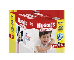 Image du produit Huggies - Snug and Dry couches, 96 unités, taille 4