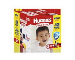 Image du produit Huggies - Snug and Dry couches, 66 unités, taille 6