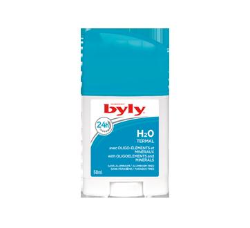 H2O Thermal désodorisant en bâton, 50 ml